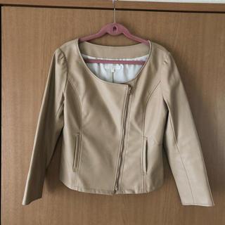 プロポーション(PROPORTION)のジャケット 春の卒園式、入園式、新生活に!(ノーカラージャケット)