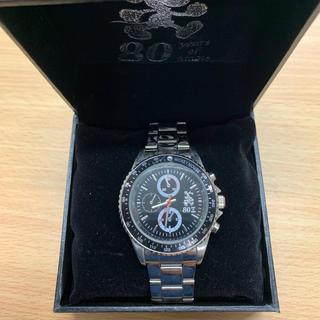 ディズニー(Disney)のミッキーマウス80周年腕時計ブラックE(腕時計)