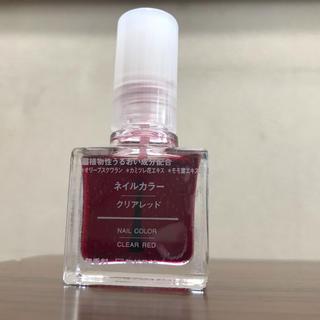 ムジルシリョウヒン(MUJI (無印良品))の無印良品ネイルカラー(マニキュア)