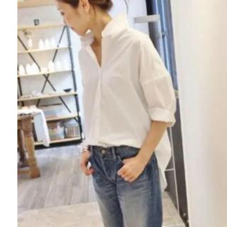 ドゥーズィエムクラス(DEUXIEME CLASSE)のプルオーバー ホワイトシャツ(シャツ/ブラウス(長袖/七分))