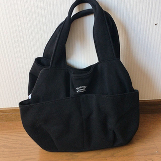 3can4on - 3can4on 収納バッグ ブラック ママバッグ収納多数!