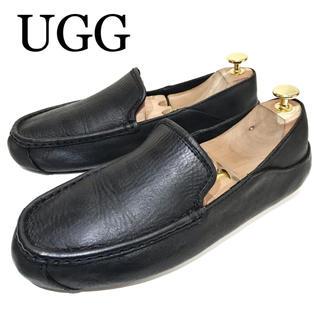 アグ(UGG)の【UGG】約270cm スリッポン ドライビング メンズ 革靴 レザー 本革(スリッポン/モカシン)