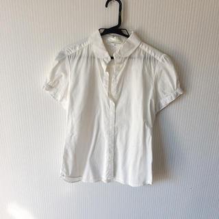 アースミュージックアンドエコロジー(earth music & ecology)のearth music&ecology ホワイトシャツS(Tシャツ(半袖/袖なし))