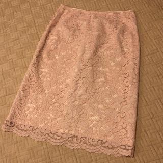 プラステ(PLST)のプラステ レーススカート(ひざ丈スカート)