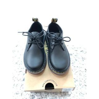 ドクターマーチン(Dr.Martens)のドクターマーチン キッズ 3ホール 新品 UK10(ブーツ)