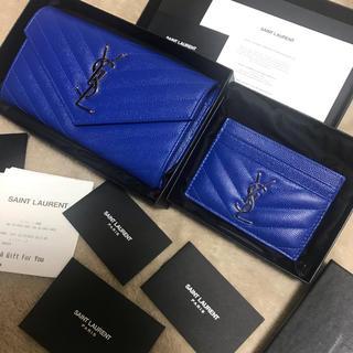 サンローラン(Saint Laurent)のYSL 長財布 パスケース 2点セット正規店購入(財布)