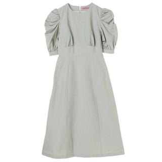 メゾンドフルール(Maison de FLEUR)の【新品】Maison de FLEUR  パワショルタイトドレス(ひざ丈ワンピース)