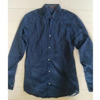 テッドベイカー(TED BAKER)のTED BAKER(テッドベーカー) スタードット柄長袖ボタンダウンシャツ(シャツ)