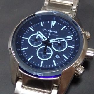 フォッシル(FOSSIL)のFOSSIL blue メンズ 腕時計(腕時計(アナログ))
