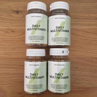 マイプロテイン(MYPROTEIN)のデイリー マルチビタミン 60錠 4本セット マイプロテイン (ビタミン)