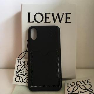 ロエベ(LOEWE)のロエベ iPhoneX,Xs対応 レザーのスマホケース 新品未使用品(iPhoneケース)