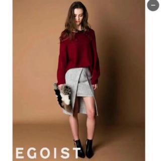 エゴイスト(EGOIST)の再値下げ♡ ラップミディスカート(ひざ丈スカート)