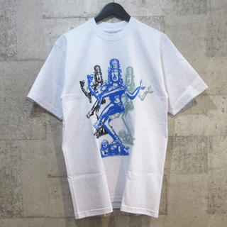 テンダーロイン(TENDERLOIN)のテンダーロイン 19SS シヴァプリントTシャツ M 白 PRO CLUB(Tシャツ/カットソー(半袖/袖なし))