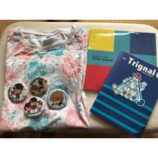 Trignal ソロライブ グッズ 銀テープ(その他)