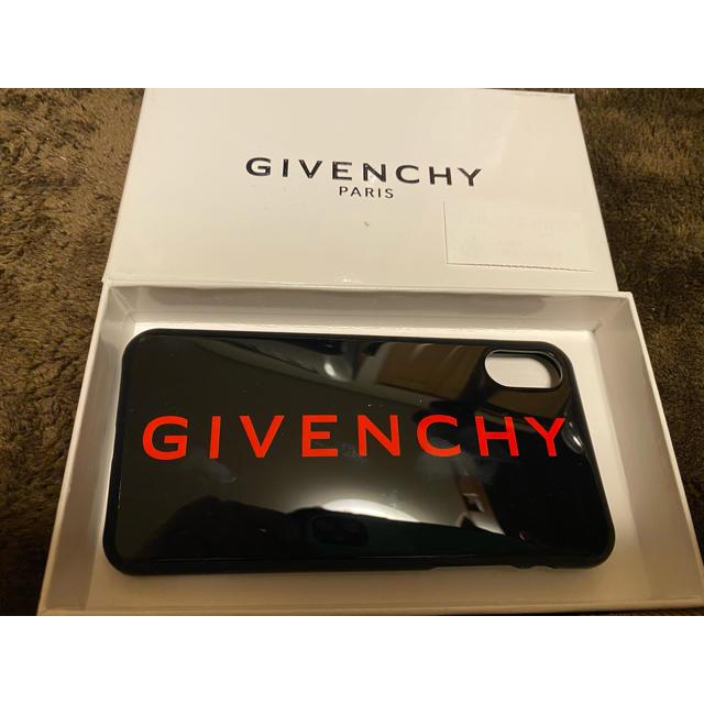 GIVENCHY - 新品 givenchy iPhoneケース iPhoneX 黒 ブラック 赤の通販