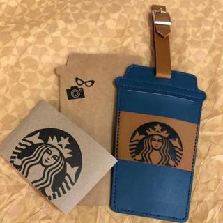 スターバックスコーヒー(Starbucks Coffee)の非売 海外 スターバックス リワード 限定 トラベル タグ ラゲッジ タグ(旅行用品)