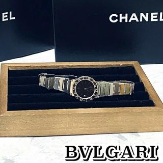 BVLGARI - 限界値下げ‼️ BVLGARI ブルガリブルガリ 腕時計 ブラック 稼動品