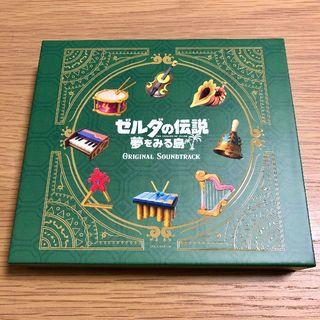 ニンテンドウ(任天堂)のゼルダの伝説 夢をみる島 オリジナルサウンドトラック【初回数量限定BOX仕様】(ゲーム音楽)