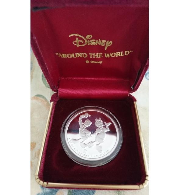 Disney(ディズニー)のDisney SILVER メダル 88' シリアルナンバー入り エンタメ/ホビーのコレクション(ノベルティグッズ)の商品写真