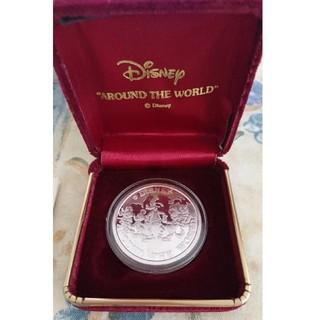 Disney - Disney SILVER メダル 88' シリアルナンバー入り