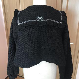 メリージェニー(merry jenny)のメリージェニー China刺繍セーラージャケット(テーラードジャケット)
