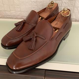 ラルフローレン(Ralph Lauren)のラルフ・ローレン イタリア製タッセルローファー 8E ブラウン(ドレス/ビジネス)