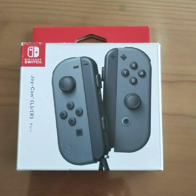 Nintendo Switch(ニンテンドースイッチ)のNintendo SWITCH ジョイコン(L)(R) グレー エンタメ/ホビーのゲームソフト/ゲーム機本体(家庭用ゲーム機本体)の商品写真