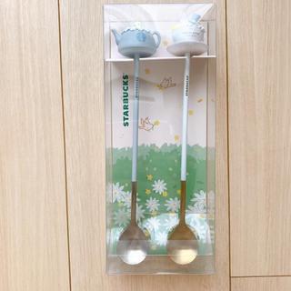 スターバックスコーヒー(Starbucks Coffee)のStarbucks 韓国限定 ティースプーン(カトラリー/箸)