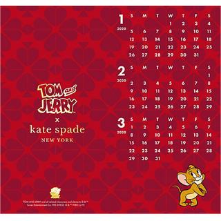 ケイトスペードニューヨーク(kate spade new york)のkate spade NEWYORK🌸2020年カレンダー(カレンダー/スケジュール)