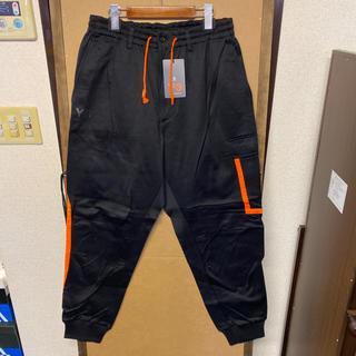 ワイスリー(Y-3)の【新品】Y-3 デザイン リブパンツ XLサイズ(その他)