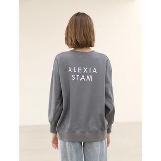 ALEXIA STAM - アリシアスタン スウェット トレーナー