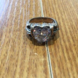925刻印 透明石付シルバーリング(90016295)(リング(指輪))