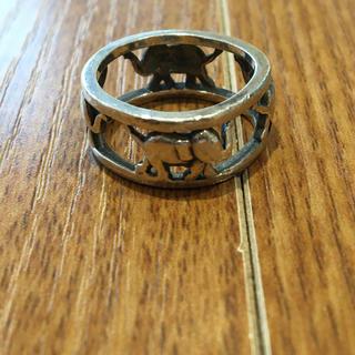 象デザインシルバーリング(90016346)(リング(指輪))