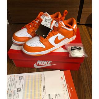 ナイキ(NIKE)のNIKE DUNK LOW SP Orange blaze 新品未使用(スニーカー)