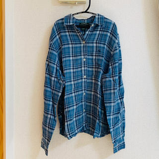 シンゾーン(Shinzone)のRalph Lauren リネンチェックシャツ(シャツ/ブラウス(長袖/七分))
