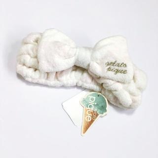 gelato pique - 新品 gelato pique ジェラートピケ ヘアバンド 7779