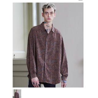 ハレ(HARE)のlidnm vintage paisley shirt ペイズリー柄シャツ L(シャツ)
