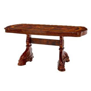 AMALFI ダイニングテーブル165cm 大理石 WALNUTイタリア製(ローテーブル)