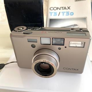 キョウセラ(京セラ)のコンタックス CONTAX T3 フィルムカメラ(フィルムカメラ)