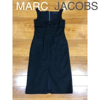マークジェイコブス(MARC JACOBS)のMARCJACBS ブラックロングワンピース(ロングワンピース/マキシワンピース)