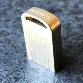エレコム(ELECOM)のエレコム USBメモリ 8GB3.0 シルバー MF-SU308GSV(PC周辺機器)