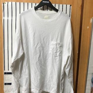 ノンネイティブ(nonnative)のYSTRDY'S TMRRW/BAGGY L/S TEE/S/WHITE★ロンT(Tシャツ/カットソー(七分/長袖))