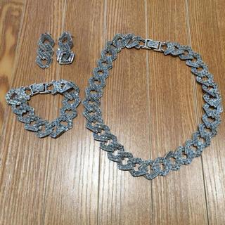 925刻印 ネックレス ブレスレット ピアスセット(90016325)(ネックレス)