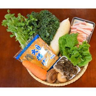 食べてびっくり!野菜たっぷり!ビッくり原くん鍋セット㉕(野菜)