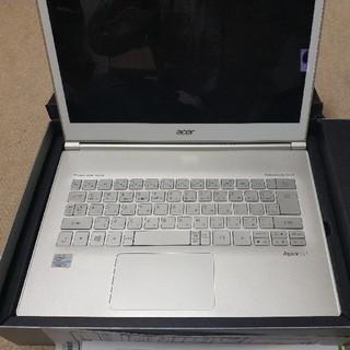 エイサー(Acer)の【ジャンク】acer Aspire S7(ノートPC)