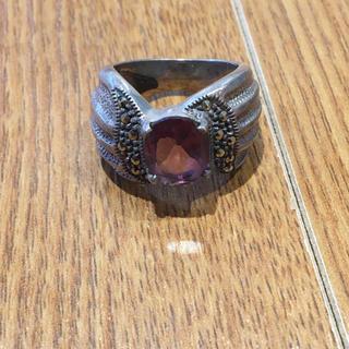 ピンク石付きリング(90016341)(リング(指輪))