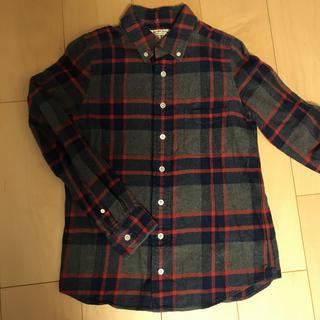 シンゾーン(Shinzone)のミラーオブシンゾーン 厚手チェックシャツ M(シャツ/ブラウス(長袖/七分))