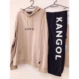 カンゴール(KANGOL)の新品 4L/KANGOL カンゴール 春物 裏毛パーカー セットアップ 薄手(パーカー)