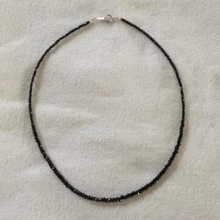 ブラックスピネルネックレス(ネックレス)