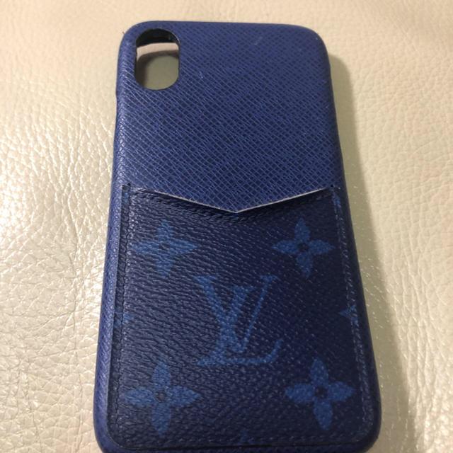 LOUIS VUITTON - ルイヴィトン iPhone.バンパーX/XSケースの通販 by su   |ルイヴィトンならラクマ